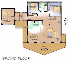 The Nighthawk ground floor plan