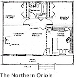 Country Cabin Getaways, The Northern Oriole
