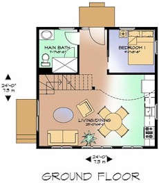 The Nuthatch ground floor plan