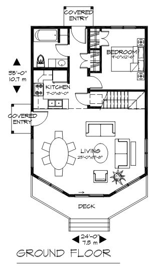 The Sandpiper ground floor plan